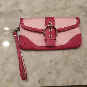 NWT Pink Coach Wallet